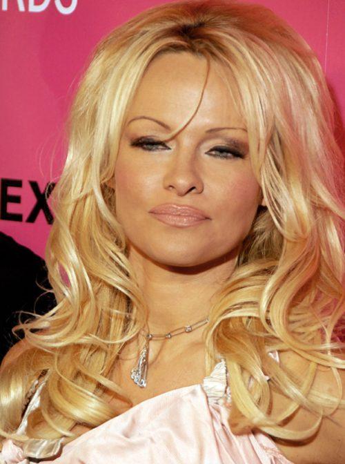 Pamela Anderson attending