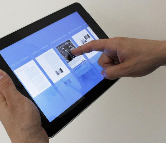 App-Empfehlung am Tablet