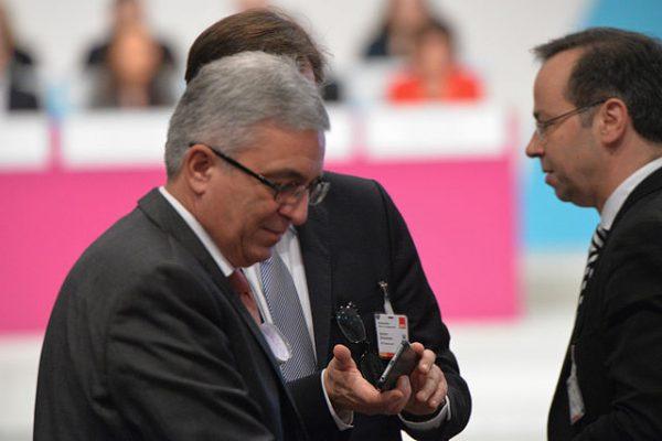 Roger Lewentz auf dem SPD Bundesparteitag Berlin, 10.-12. Dezember 2015, CityCube, Messe Berlin