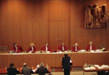 Bundesverfassungsgericht, Verhandlung II. Senat