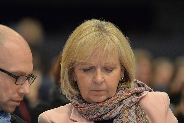 Hannelore Kraft SPD Bundesparteitag