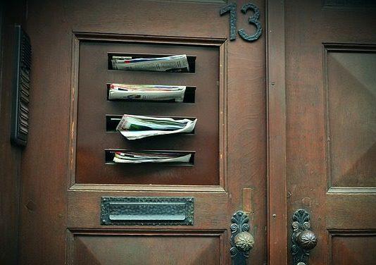 Printwerbung im Briefkasten statt onlinewerbung