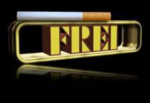 Frei von der Zigarette