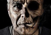 Frühzeitiger Tod des Rauchers bei Zigarettenkonsum
