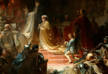 Kaiserkrönung Ludwig des Bayern in Romvon August von Kreling