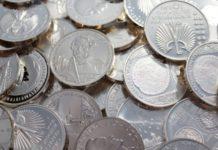 Münzen aus Silber