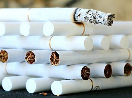 Stapel Zigaretten