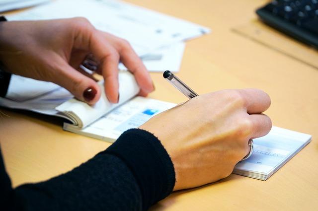 Abfindung an Mitarbeiter mittels Scheck