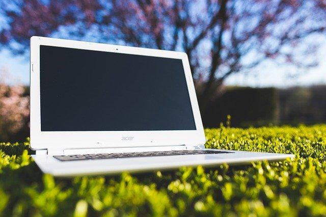 Gebrauchte Ware - hier ein Laptop
