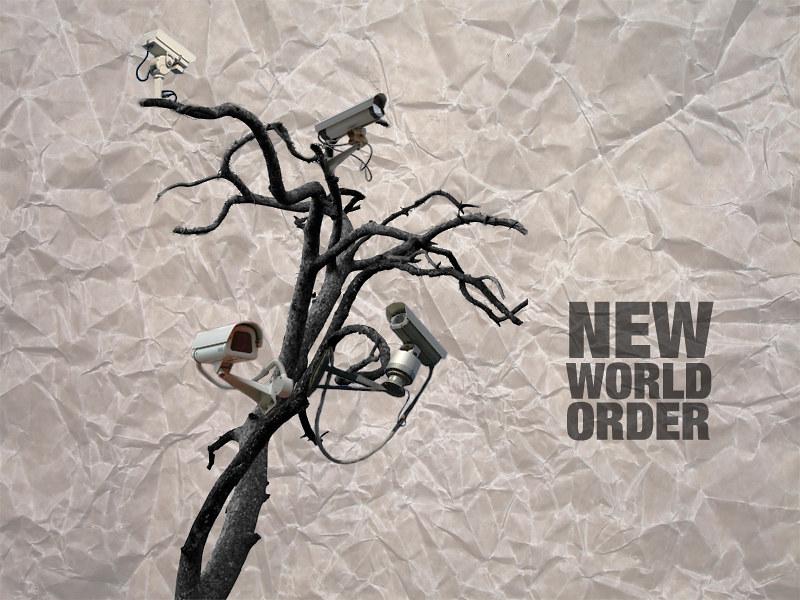 Viele Überwachungskameras - new world order